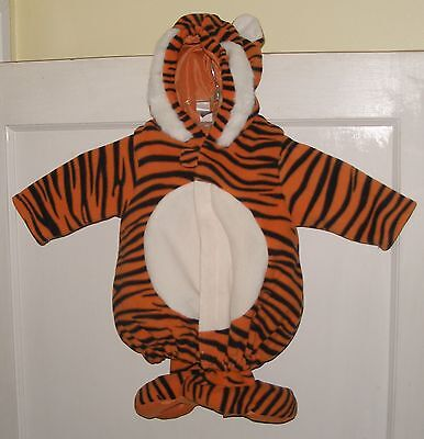 Old Navy Kids 0 - 6 Mont Tiger Custom Toddler 2 pc Halloween Costume Used Fluffy (Old Navy Toddler Costumes)