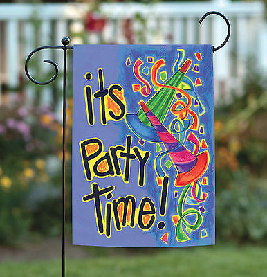 Toland Party Poppers 12.5 x 18 Celebrate Streamer Ribbon Birthday Garden Flag](New Year's Poppers)