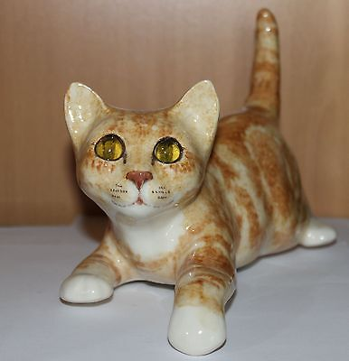 Winstanley Shelf Hanging Ginger Tabby Cat Size 3