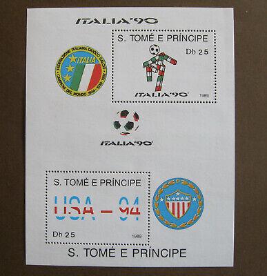 S. TOMÉ E PRINCIPE - ITALIA '90 - FIGC Db25 - USA-94...