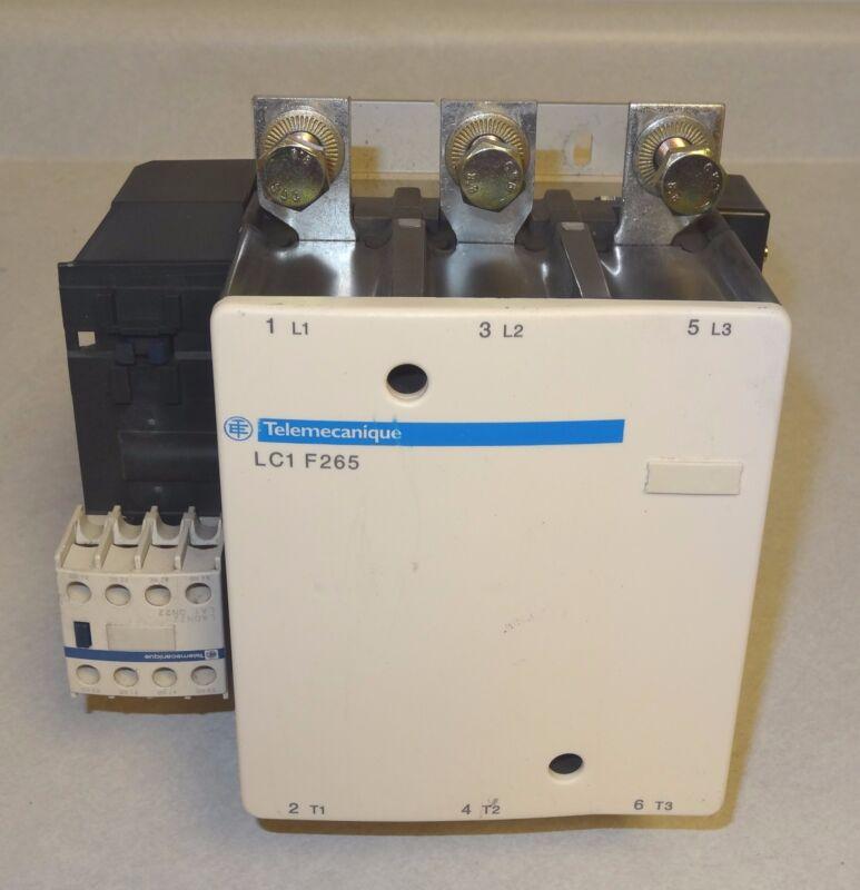 Schneider Telemecanique LC1F265 600V-AC 285A 3-PH LC1F265S121 Contactor