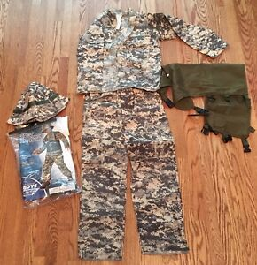 Youth 8-10 Army Airborne Ranger Halloween Costume