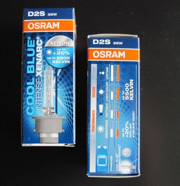 2x NEW&ORIGINAL ! D2S OSRAM 66240CBI Neu