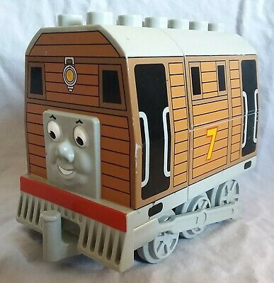 Lego Duplo Toby the Tram Engine #7 good used condition