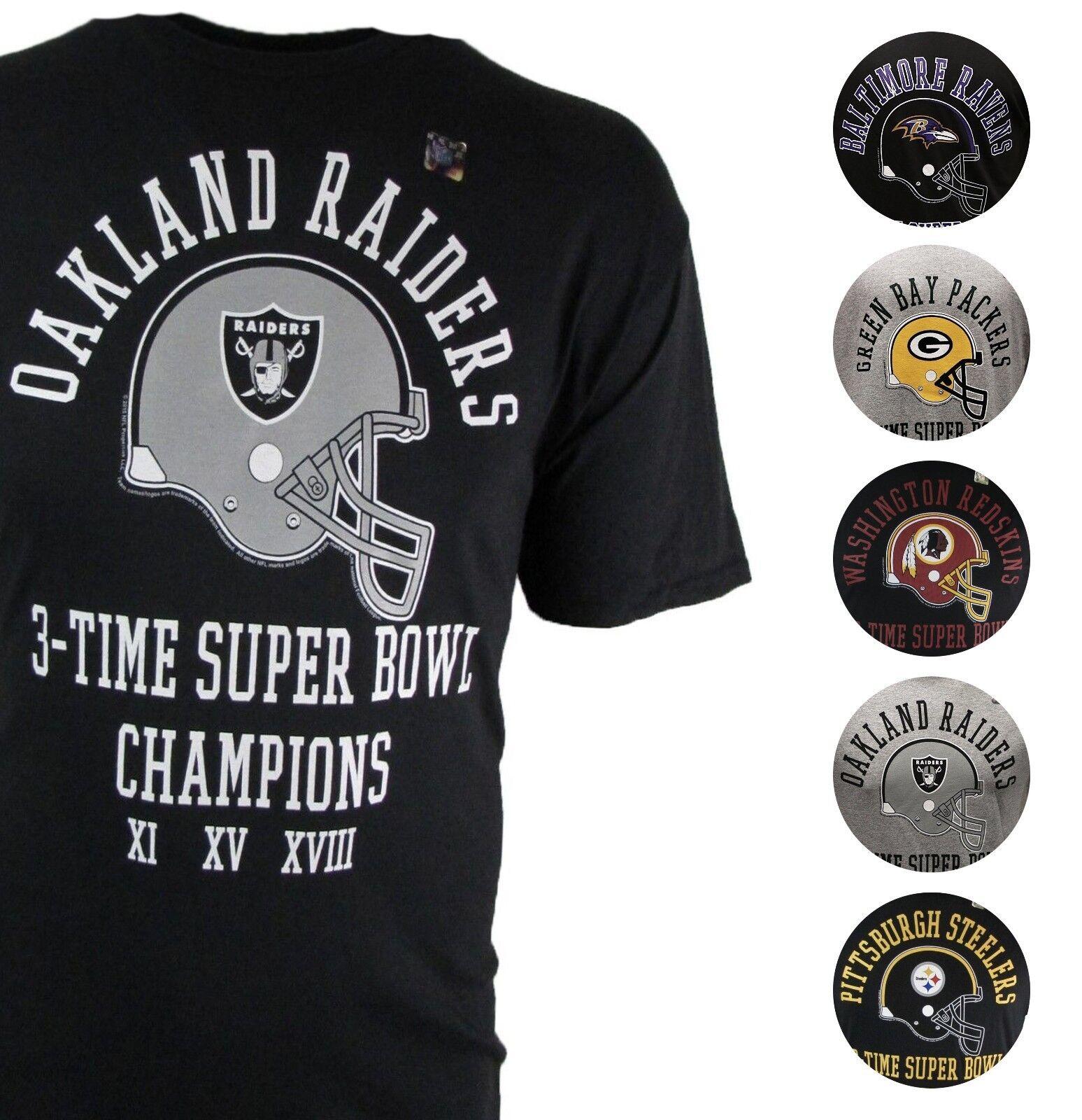 Medium NFL San Francisco 49Ers 5 Time Super Bowl Champ T-Shirt Gray