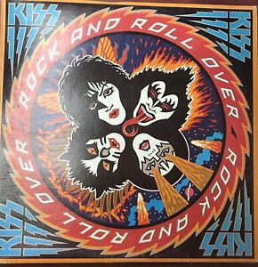 Kiss LP - Rock and Roll Over