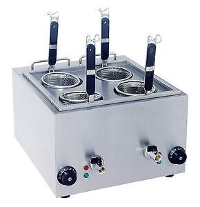 NEW 4 Basket Pasta Boiler or Noodle Cooker Streamer