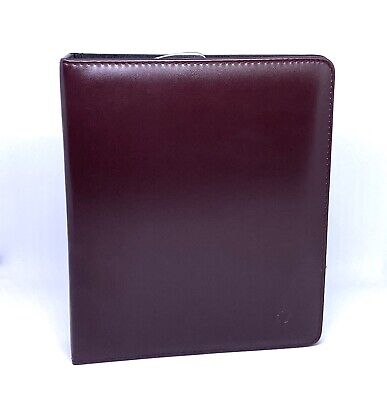 Franklin Covey Synthetic Binder The 7 Habits Inserts Tabs Pages Burgundy 25769
