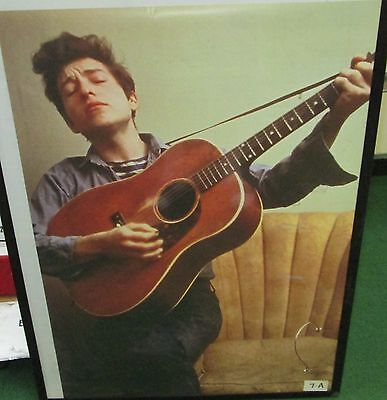 BOB DYLAN RARE NEW POSTER MID 2000'S VINTAGE COLLECTABLE guitar 2