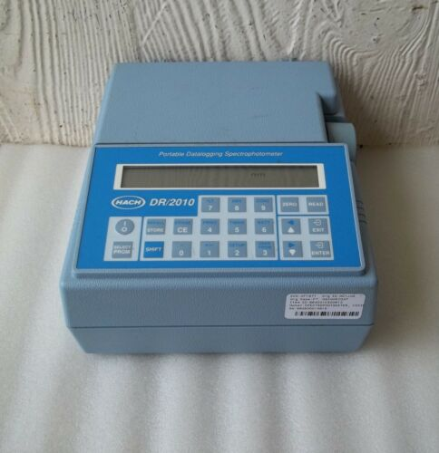 Hach DR/2010 Portable Datalogging Spectrophotometer ~ Powers Up & Changes Modes