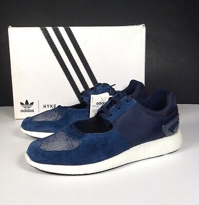 Adidas Originals Tokyo HYKE Trainers Navy Suede Active Breathable Gym S 11.5 NEW