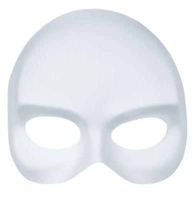 Halbmaske NEU (Weiße Masken)