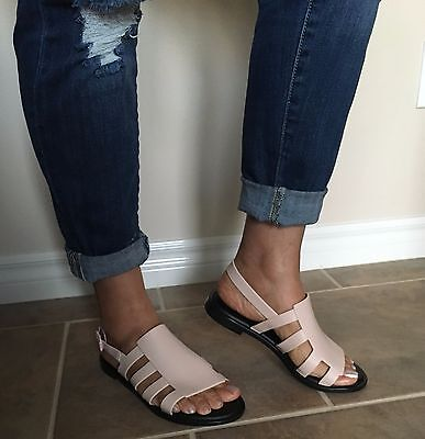 New Melissa Boemia Pink Black Sandals Usa 6  7  9  10