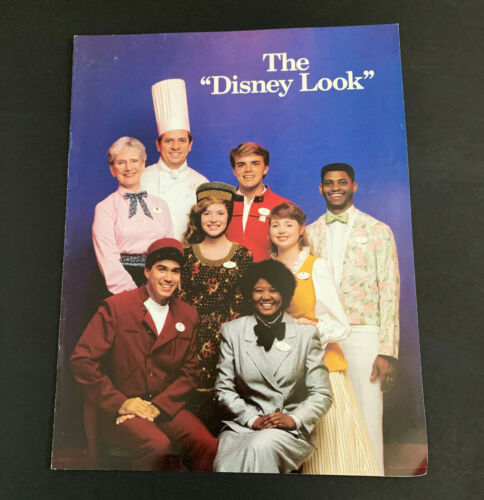 Disneyland Cast Employee Orientation Grooming Guide 1987 The Disney Look