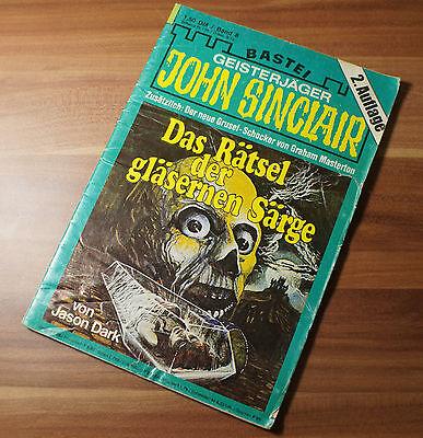 John Sinclair Geisterjäger Gruselromanheft Bastei 2. Auflage Band 8