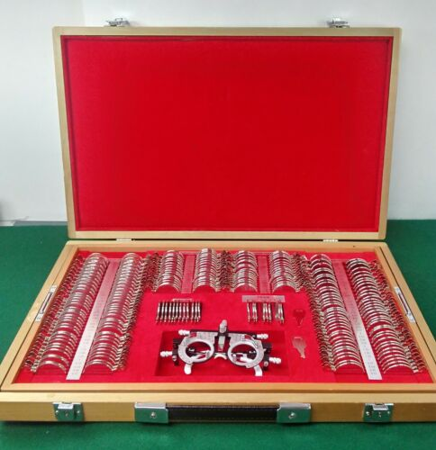 Woodlyn Optical Complete Ophthalmic Trial Lens Set