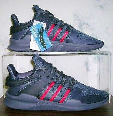 ac40c322117dd New Adidas x Originals Sz 10 Red Green Stripes EQT Equipment ADV Shoes FAST  SHIP
