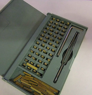 Spare Character Set - Manual Hot Foil Coding Machine DY8B - Expiry Dates/Batches