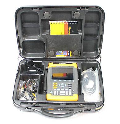 Fluke 199c 200mhz 2.5gss Digital Oscilloscope Scopemeter Multimeter