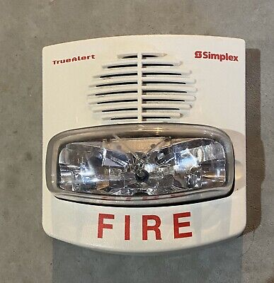Simplex 4903-9429 Truealert Fire Alarm Horn Tru Alert Strobe