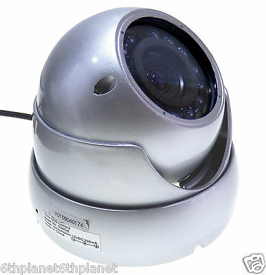 Anti-Vandal CCD Colour IR VariFocal CCTV DOME Camera Manual Zoom