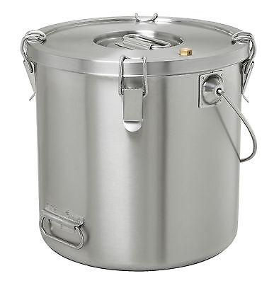 Bartscher Thermo-Transportbehälter Thermobehälter Edelstahl 20 Liter