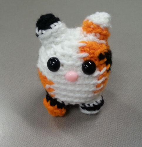 Cute Amigurumi Crochet Cat