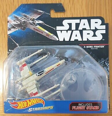 "Hot Wheels Star Wars Starships ""BLACK CARD"" Series - X-Wing Fighter Red Five"
