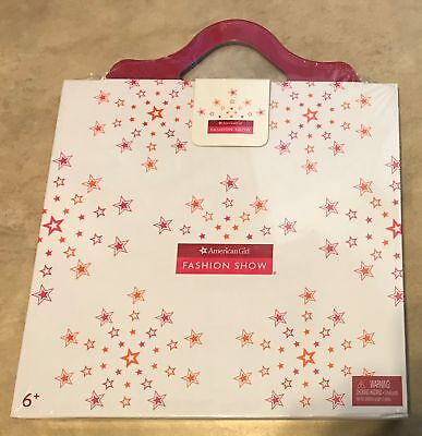American Girl 2013 Paper Doll Fashion Show Playset NEW factory sealed