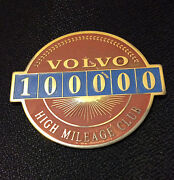 Volvo High Mileage Badge