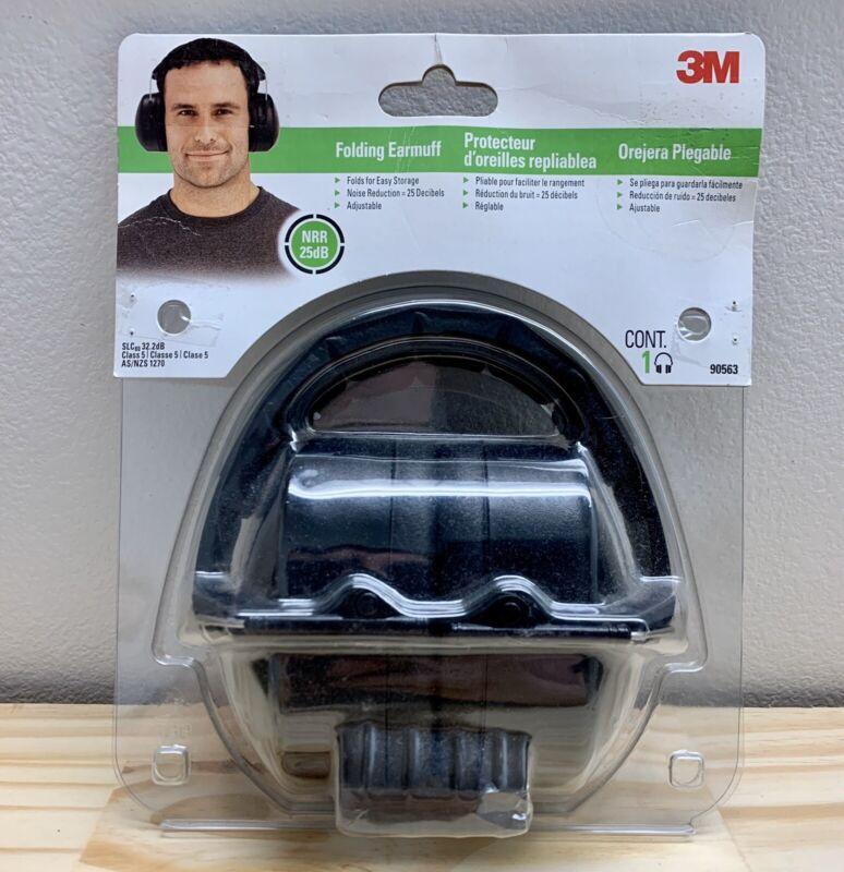 3M Folding Earmuff,Noise Reduction,Adjustible