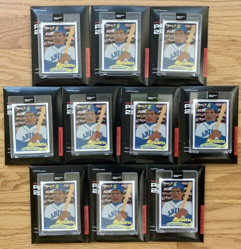 10 CARD LOT Topps Project 2020 088 1989 Ken Griffey Jr Keith Shore PR /99,177 - $0.99