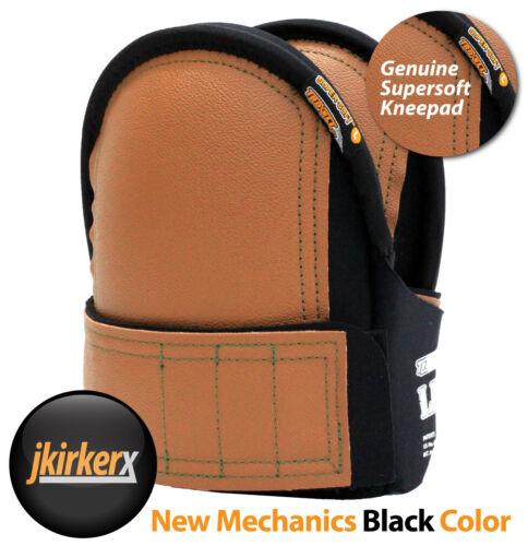Troxell USA Super soft Black Leatherhead Knee pads - 17-209SOFT-XB