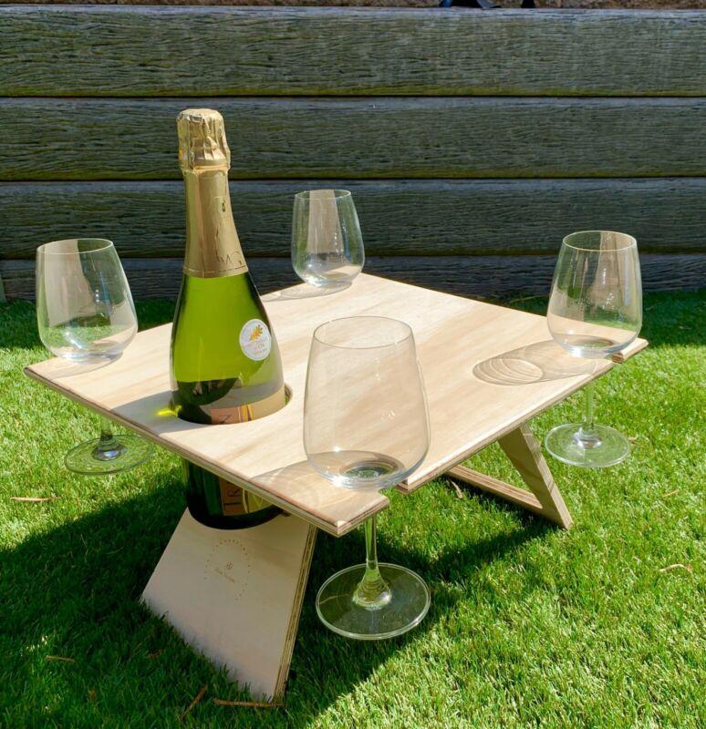 Summer Beach / Wine Picnic Table