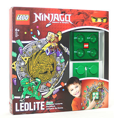 Lego Ninjago Nachtlicht Grün, Ninjago Lloyd, Lampe Licht Wandlicht