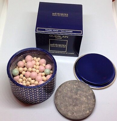 GUERLAIN METEORITES PERLES DE LEGENDE FACE POWDER LIMITED EDITION LIGHT -