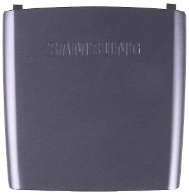 (GENUINE Samsung SGH-A437 BATTERY COVER Door CHARCOAL GRAY flip cell phone back)