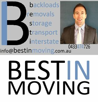BESTIN MOVING Interstate Removals & Backloads Specialists Auswide Sydney Region Preview