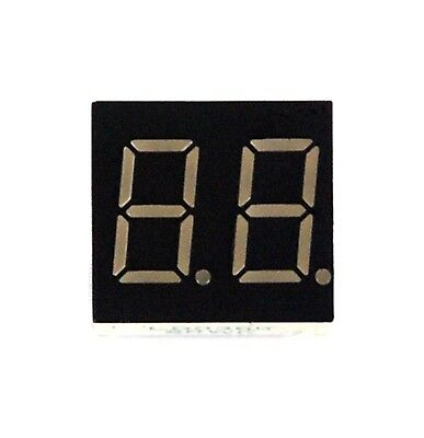 5pc 0.36 7 Segment Dual Digit Ld0366g Color Green Led Display Ca Lenoo Taiwan