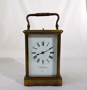 Tiffany Carriage Clock