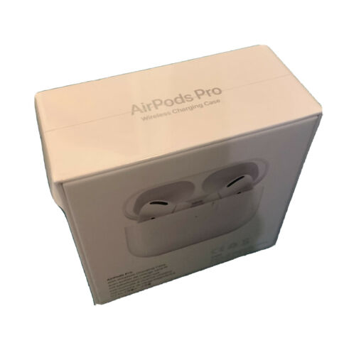 Apple AirPods Pro White In Ear Canal Headset With Wireless Charging Case - $200.00