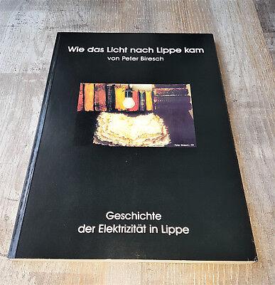 Geschichte der Elektrizität in Lippe   Wie das Licht nach Lippe kam  1999