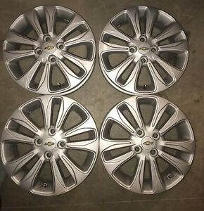 2016,17-18  Chevy, Ford, Honda silver alloy rims 15''