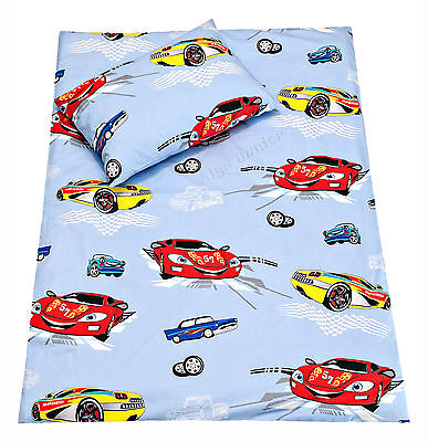 (baby toddler cot/ cot bed bedding pillowcases; duvet covers; set 100% cotton car)