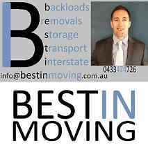 BESTIN MOVING Interstate Removals & Backloads Australia Wide Brisbane Region Preview