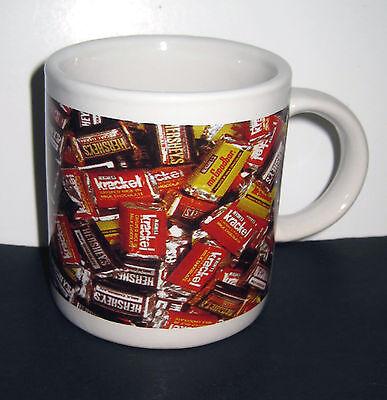 Hershey's Chocolate Candy Bar Miniatures Mini Mug Demitasse Cup Krackel Goodbar  ()