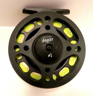 Fly Fishing Large Arbor Fly Reel Line Fitted WF7 /& Backing Line