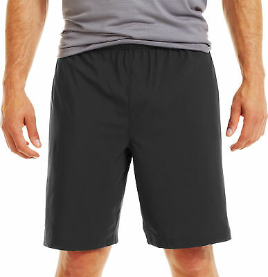 "Under Armour Heatgear Mirage 8"" Mens Running Short Black Gym Sports Short Small"