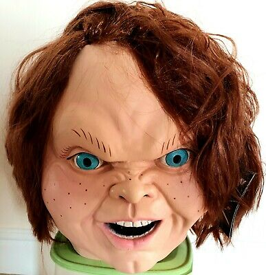 CHILD'S PLAY 2 - EVIL CHUCKY LATEX MASK (TRICK OR TREAT STUDIOS) NEW RELEASE