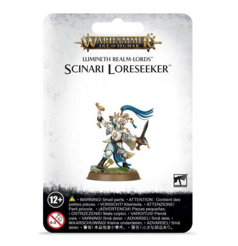 Scinari Loreseeker Blister Lumineth Realm-Lords Warhammer AOS Age Sigmar NIB